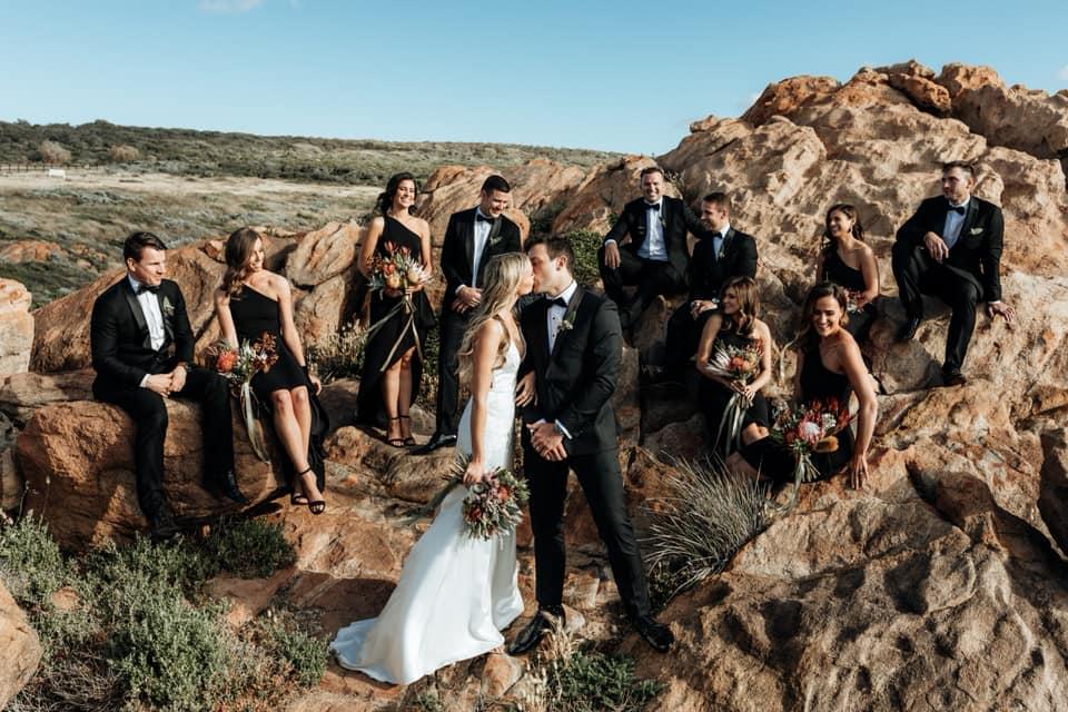 Monte Carlo Tuxedo Group Shot