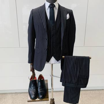 Suit Vault Made-to-Measure 3-Piece Pinstripe