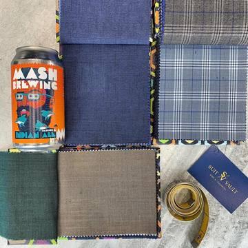 Suit Vault Tailored Experience Fabrics
